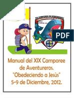 Manual Oficial de Xix Camporee de Aventureros 2012