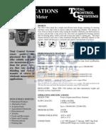 PETRO TCS 700 Series Range Spec Sheets