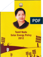 TN Solar Energy Policy 2012