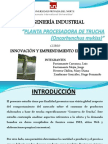Planta Procesadora de Trucha (Oncorhynchus Mykiss