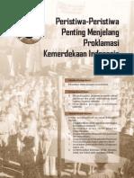 5. Peristiwa-Peristiwa Penting Menjelang Kemerdekaan Indonesia