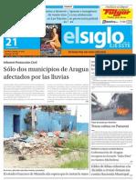 Elsiglo Eje Este Domingo 21-10-2012