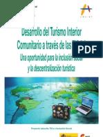 Desarrollo del Turismo Interior Comunitario a través de las TIC 2.0