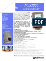 PETRO Meters TCS 3000 Electronic Register