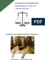 Teoricos Balance de Masa Sedimentacion Flotacion Emulsiones