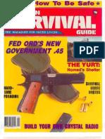 American Survival Guide April 1988 Volume 10 Number 4