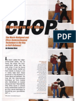 Return of the Chop - Damian Ross, April 2009
