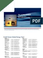Credit Suisse - Oil & Gas Primer