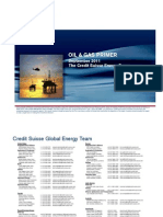 Credit Suisse - Oil & Gas Primer