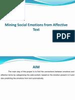 Mining Social Emotions