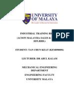 technical report(tck)