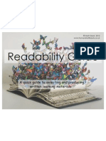 readability guide shared