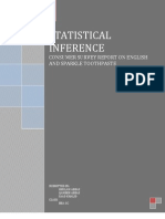 Statistical Infrencing