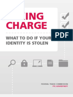 Taking Charge What to Do if Your Identity is Stolen