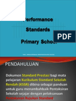 Performance Standard Primary School