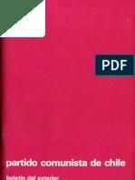 Boletín del Exterior Partido Comunista de Chile Nº32