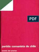 Boletín del Exterior Partido Comunista de Chile Nº33