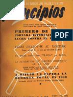 PRINCIPIOS N°11 - MAYO DE 1942 - PARTIDO COMUNISTA DE CHILE