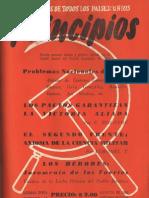 PRINCIPIOS N°14 - AGOSTO DE 1942 - PARTIDO COMUNISTA DE CHILE