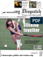 The Pittston Dispatch 10-21-2012