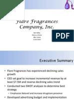 Flare Fragrances Presentation Final