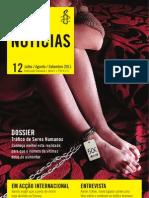 Revista Anistia Internacional Especial Trafico Humano