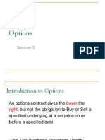 Derivatives - Introduction to Options & Strategies 2012
