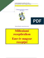 139 Milleniumi Receptlexikon - Ezer Ev Magyar Receptjei