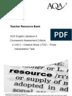 LITA2 Prose Interpretation Task