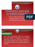 Sampling & Analysis