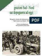 Migrazioni SUD-NORD in Italia Nel Dopoguerra
