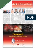 Ham Dard Centenary Supplement
