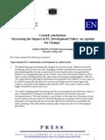 EU Development Policy Council12