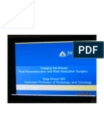 Imaging the Breast Post Reconstruction and Risk Reduction Surgery