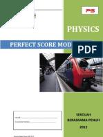 Modul Perfect Score SBP Fizik SPM 2012
