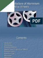 The Manufacture of Aluminium Alloy Wheels