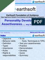 13-Earthsoft Foundation of Guidance-Assertiveness
