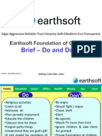 2 Earthsoft Brief Do and Do Not May2012