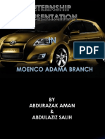 Internship report on MOENCO | Tire | Acceleration