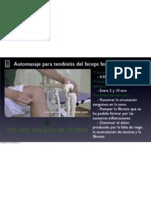 Tendinitis biceps femoral pdf