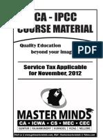 Service Tax for Nov.2012(Dev)