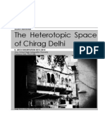 The Heterotopic Space of Chirag Delhi
