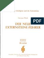 Herman Wirth - Der neue Externsteine-Führer (1969)