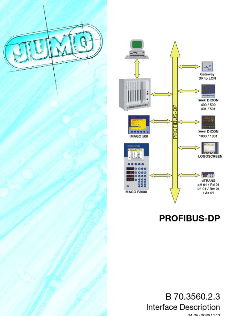 Jumo Macedonia RS485 Transmission Technology | Input/Output | Cable