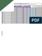Formato Planilla de Clases