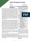 Preparatory Newsletter No 10 2012