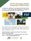 Mostra Francigena AdDuasLauros Villa de Sanctis Ver2