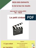le petit cinéaste 31 octobre 2012