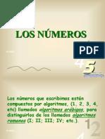 Power Point Los Numeros