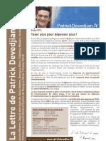 lettre de la 13 circonscription Automne 2012